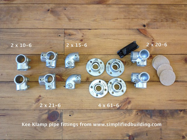 HL Pipe Bed Frame - Fittings Bundle