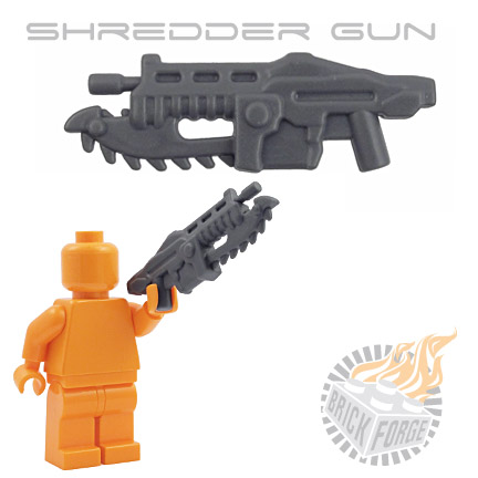 Shredder Gun - Dark Blueish Gray
