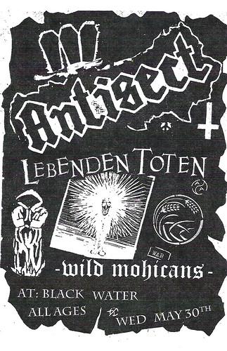 5/30/12 Antisect/LebendenToten/WildMohicans