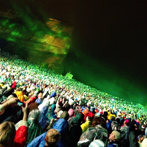 Ever wondered what a concert at Red Rocks looks like? @thefray
