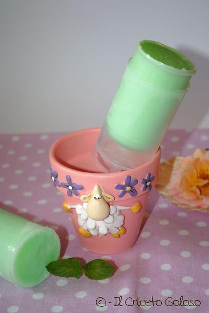 Ghiaccioli latte e menta (2)