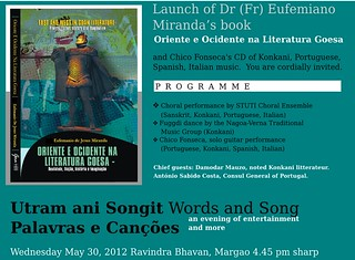 New book on Portuguese writing in Goa, 19th and 20th century