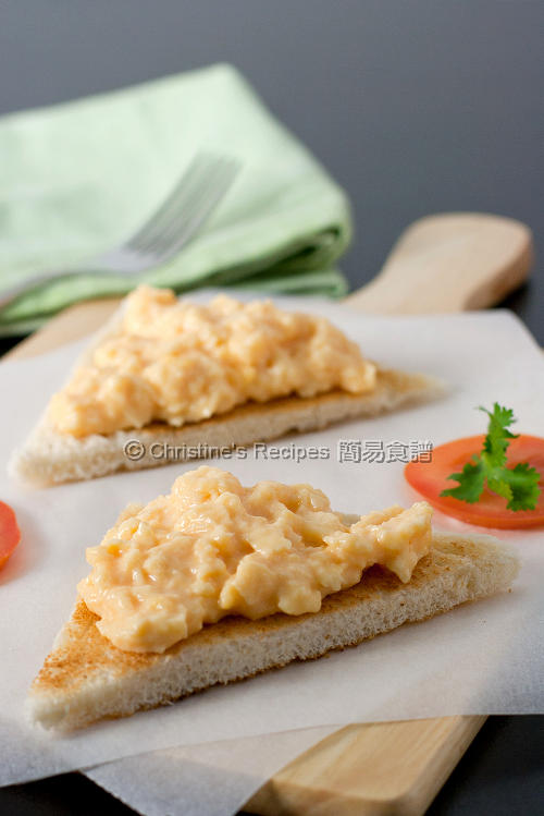 嫩滑炒蛋 Perfect Scrambled Eggs01