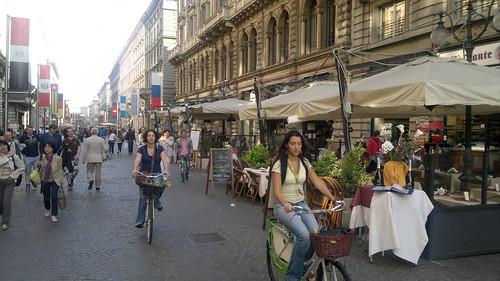 Milan Via Mercanti