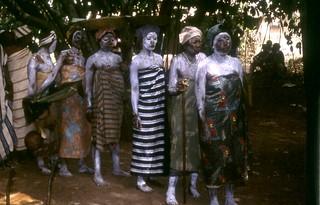 Sierra Leone Mende Wm funeral reenact