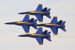 2012 Smyrna Air Show: Blue Angels Diamond Formation