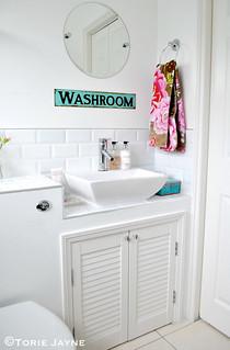 Washroom cupboards