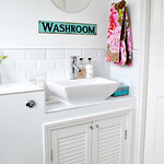 Washroom cupboards