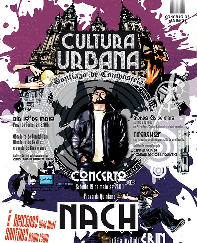 Santiago de Compostela 2012 - Ascensión-festival Cultura Urbana - cartel