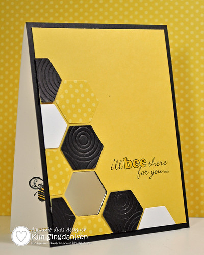Bumble Bee Card open