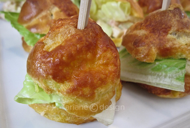 Gougère Spot Prawn Tail Slider