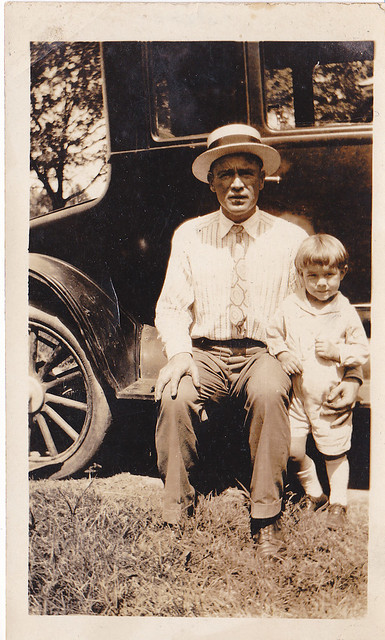 1920's father and Son