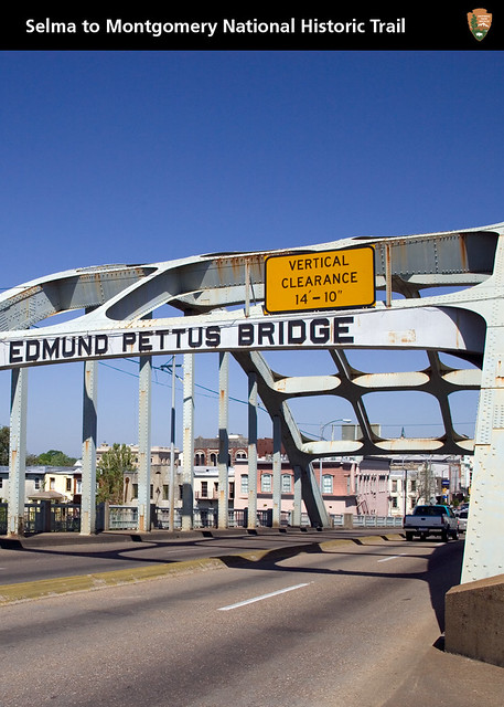 "Edmund Pettus Bridge ""Bloody Sunday"" from Flickr via Wylio"