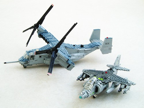 Osprey and Harrier: USMC STOVL aircraft