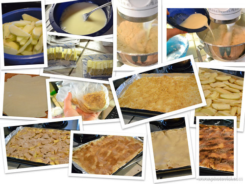 steps for making apple pie bars