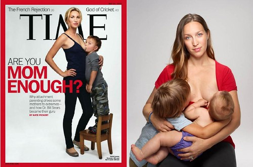 TIME Magazine Cover: Are You Mom Enough? To breastfeed