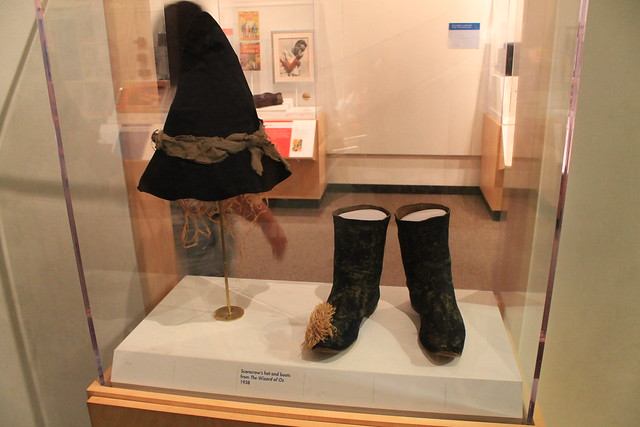 The Scarecrow's Hat and Boots in the Wizard of Oz