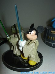 Jedi Mickey Mouse