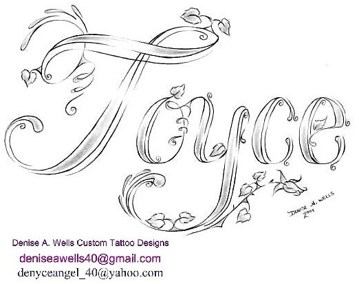 joyce tattoo design by denise a wells flickr photo sharing. Black Bedroom Furniture Sets. Home Design Ideas