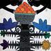 Marius Jonutis. Gėlės uostymas. 2012, akrilas,drobė, 100 x 130