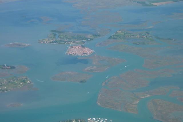 230 - Venezia desde el aire