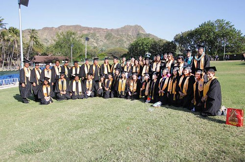 "<p>Honolulu CC's commencement was held at the Waikiki Shell and was themed ""Seize Your Destiny""</p>"