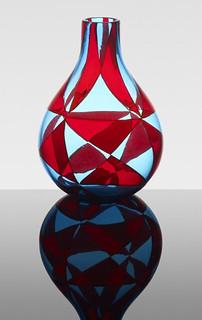 Ercole Barovier, Intarsio vase, 1963, Lot 156