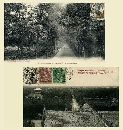 Đường Phạm Ngọc Thạch (DUY TÂN trước 1975) - ngày xưa là Rue Blancsubé và Rue Garcerie