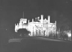 Coronation decorations; illuminations of Sydney, Government House, 1937 / photographer Sam Hood