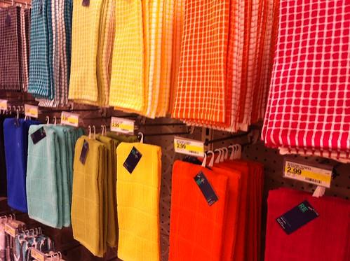 towels at target