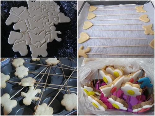 şeker hamurlu kurabiye yapılışı