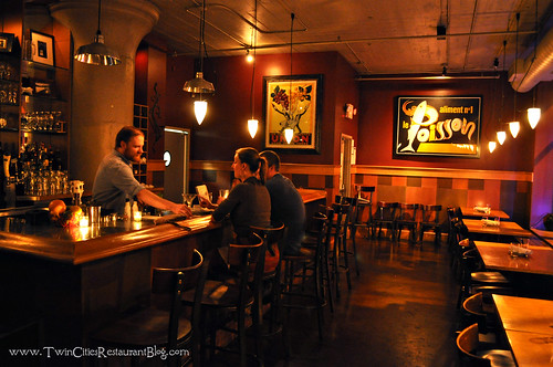Bar Area and Sapor Cafe and Bar ~ Minneapolis, MN