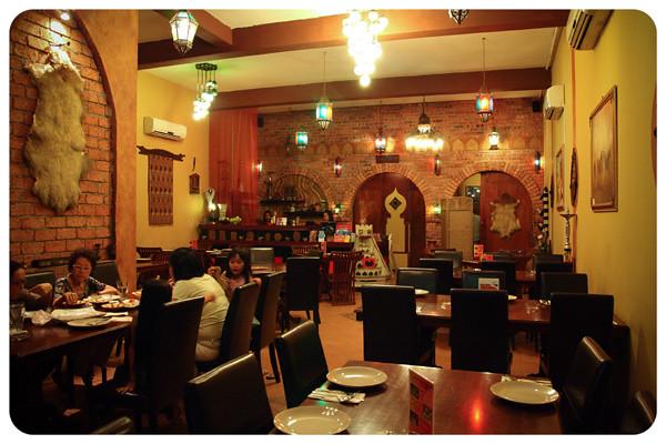 Laziz Restaurant Layout