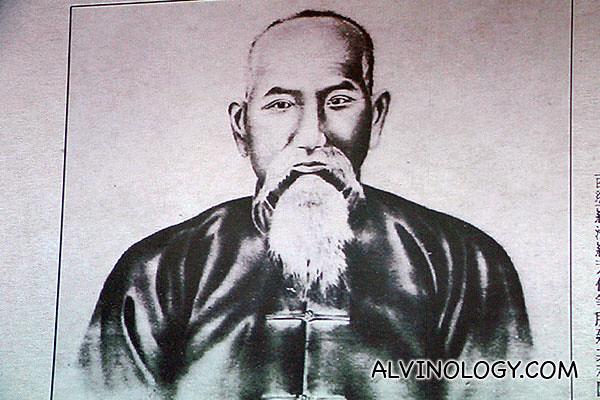 Luo Fang Bo - the founder of Lan Fang Republic