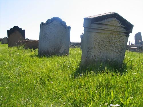 Whitby churchyard