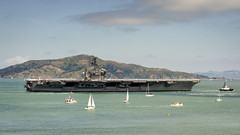 USS Nimitz in San Francisco