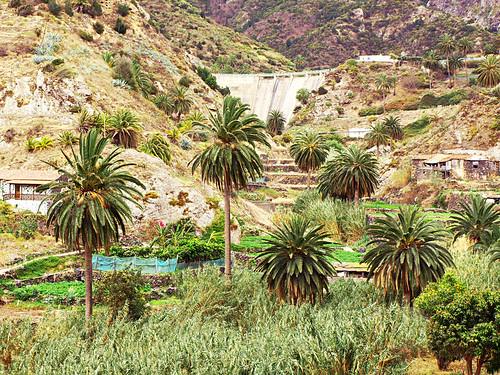Encantadora Dam, Vallehermoso, La Gomera