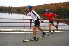 Rizika tréninku na kolečkových lyžích
