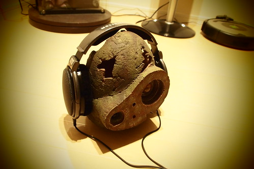 Robot Soldier Head with HD650