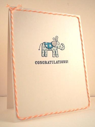 Congratulations Elephant