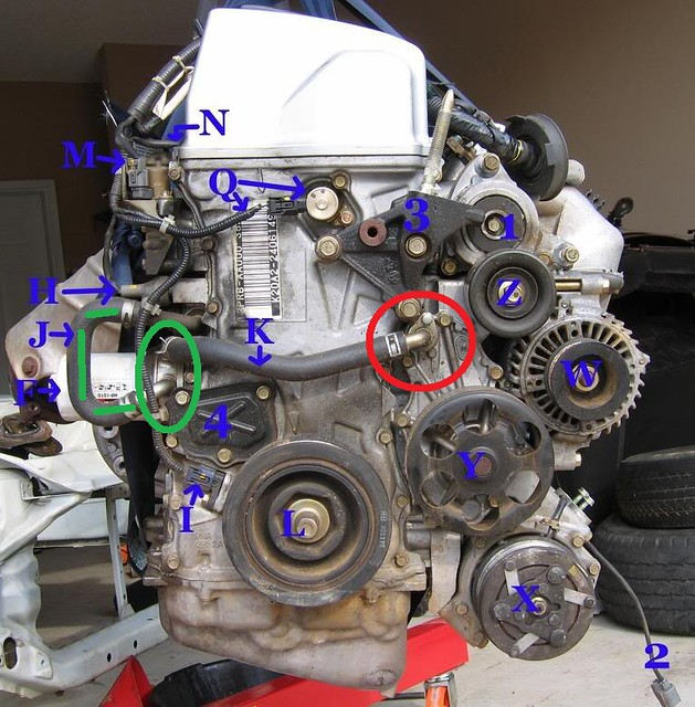 K24 Swap Finishing Touches   Got Some Questions