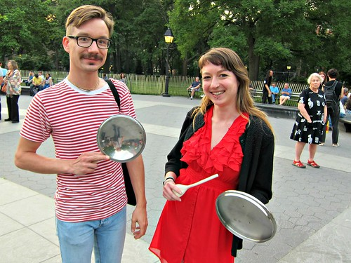 Occupy Wall Street: May 30, NYC Casseroles Night, Solidarity with Quebec Student Strike, Washington Square Park