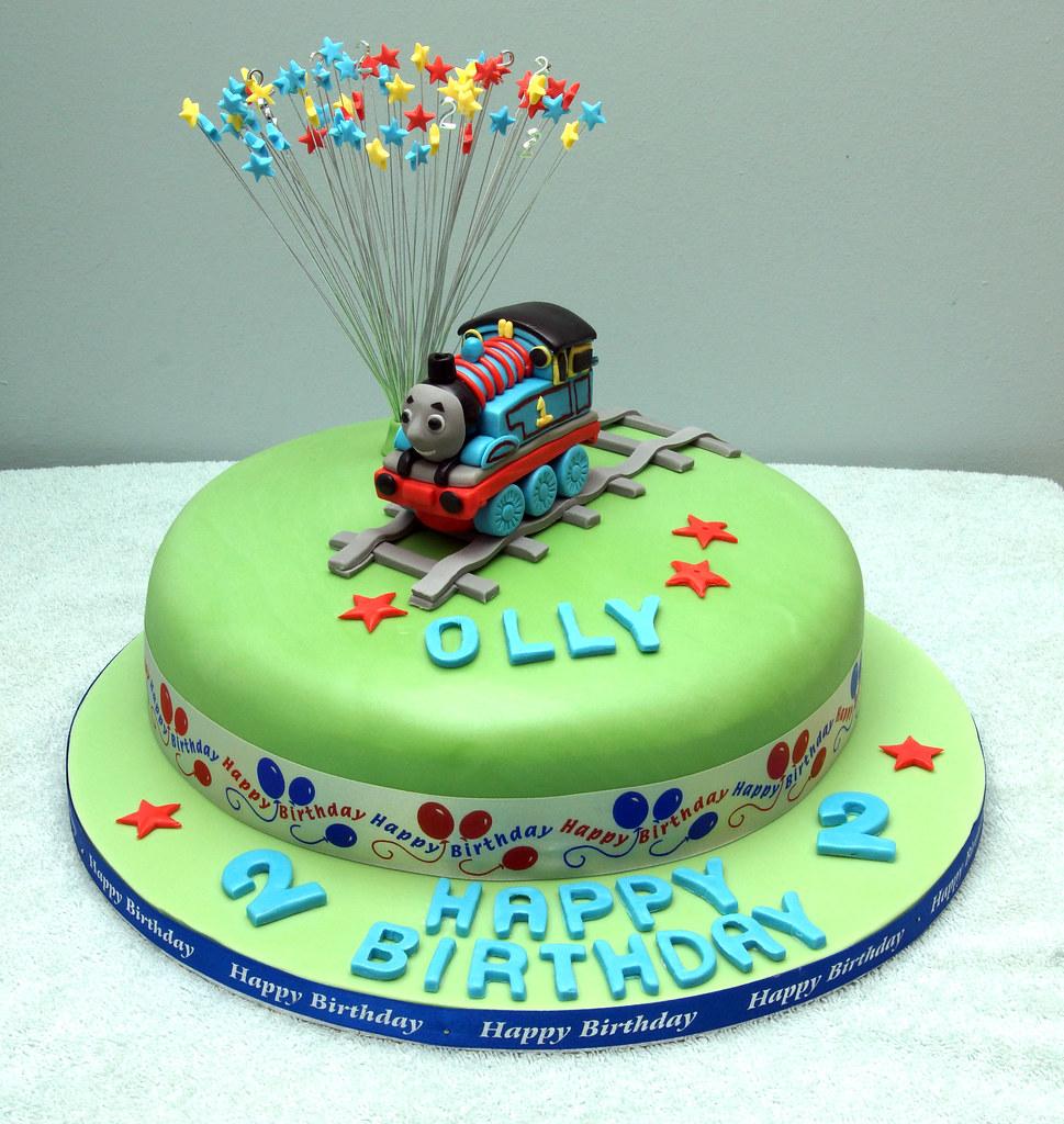 Thomas The Tank Engine Birthday Cake A Photo On Flickriver