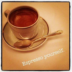 After dinner espresso