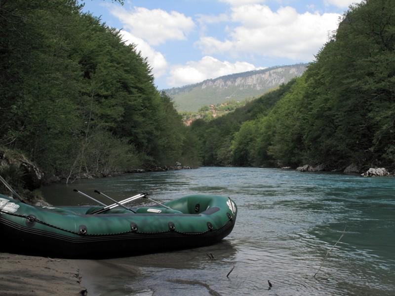 Rafting sur la rivière Tara