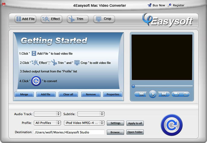 How to convert any videos on Mac with 4Easysoft Video Converter for Mac 7332162120_0332a91803_b