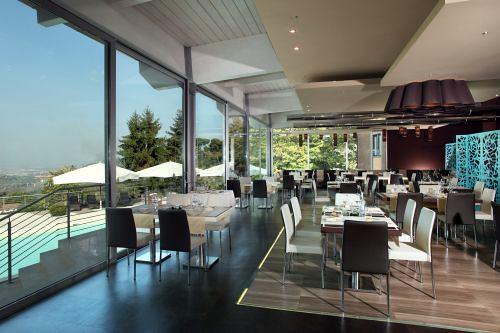 """Ristorante panoramico """"là, cucina con vista"""" a Frascati"""