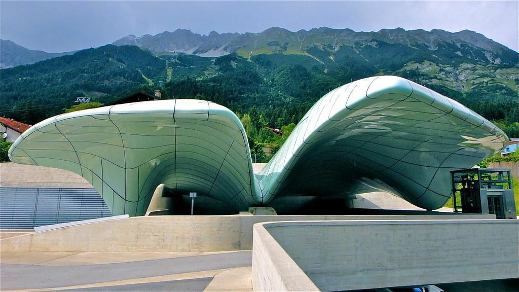 Nordpark railway stations, Hungerburg funicular, Innsbruck, Austria