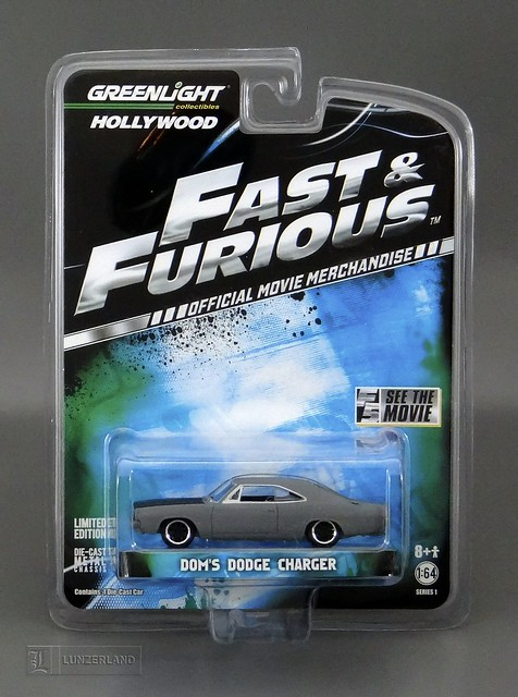 Fast Amp Furious 1 64 Scale Die Cast Dom S Dodge Charger
