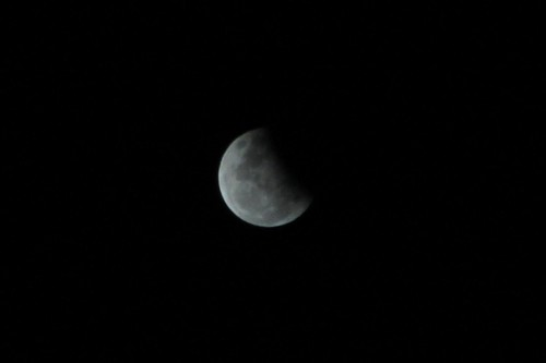 Partial Lunar Eclipse, 4 June 2012